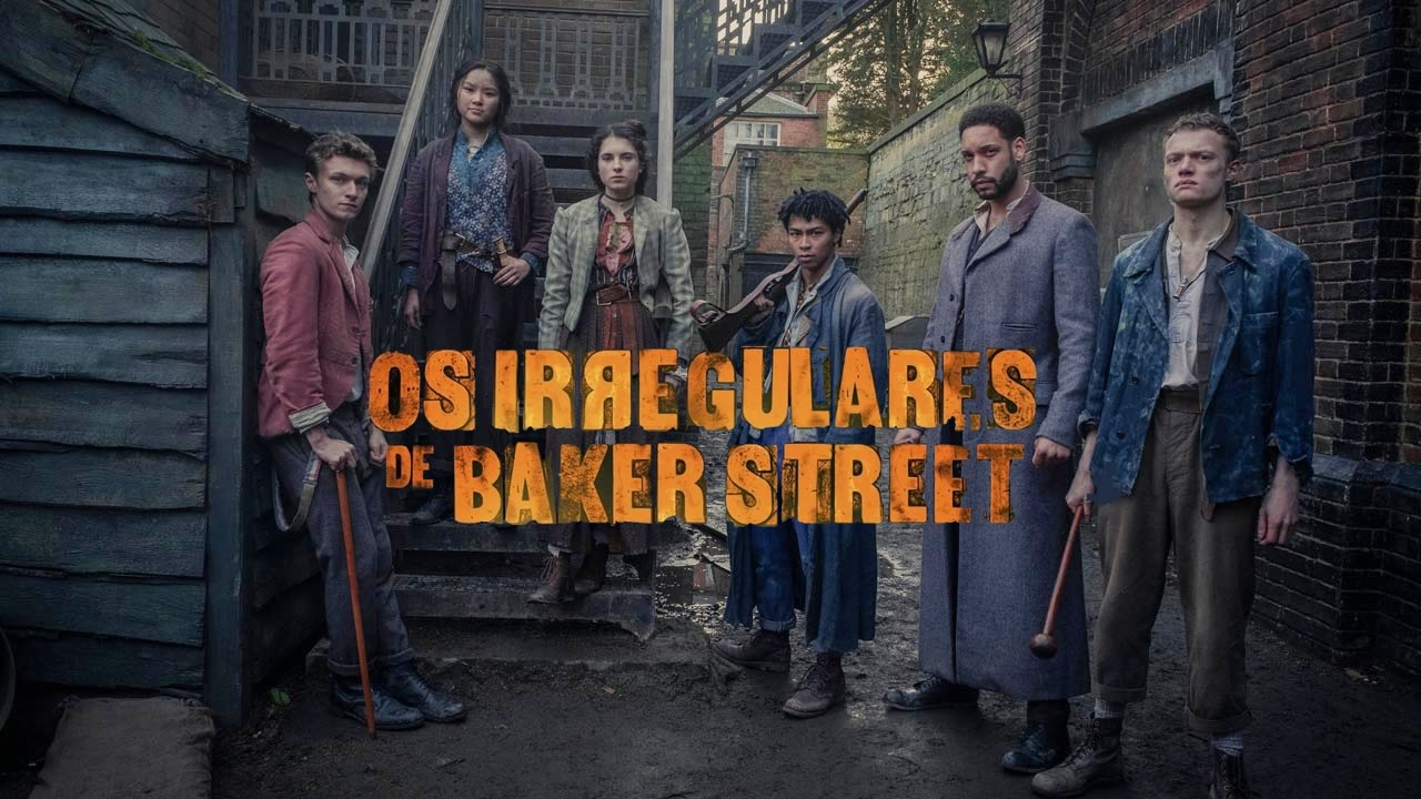 Os Irregulares de Baker Street - Série na Netflix