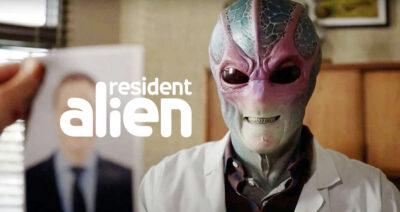 Resident Alien: Canal Syfy renova série com Alan Tudyk para segunda temporada
