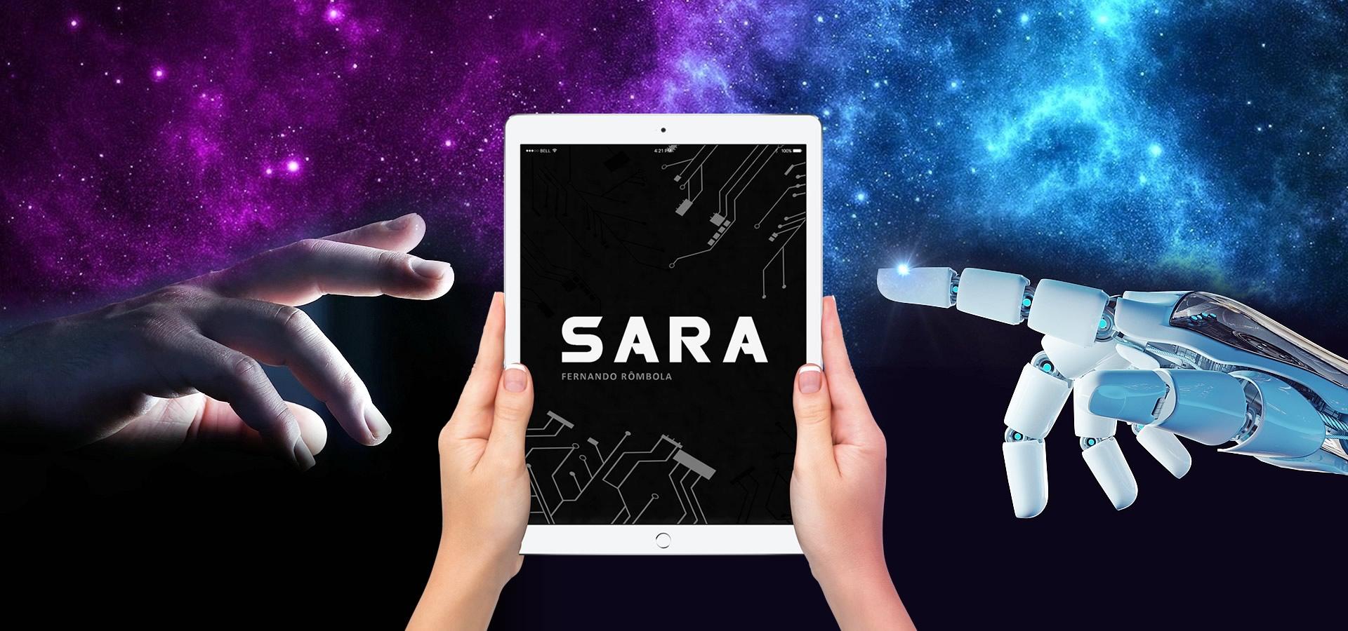 SARA | Livro de ficção científica transhumanista de Fernando Rômbola