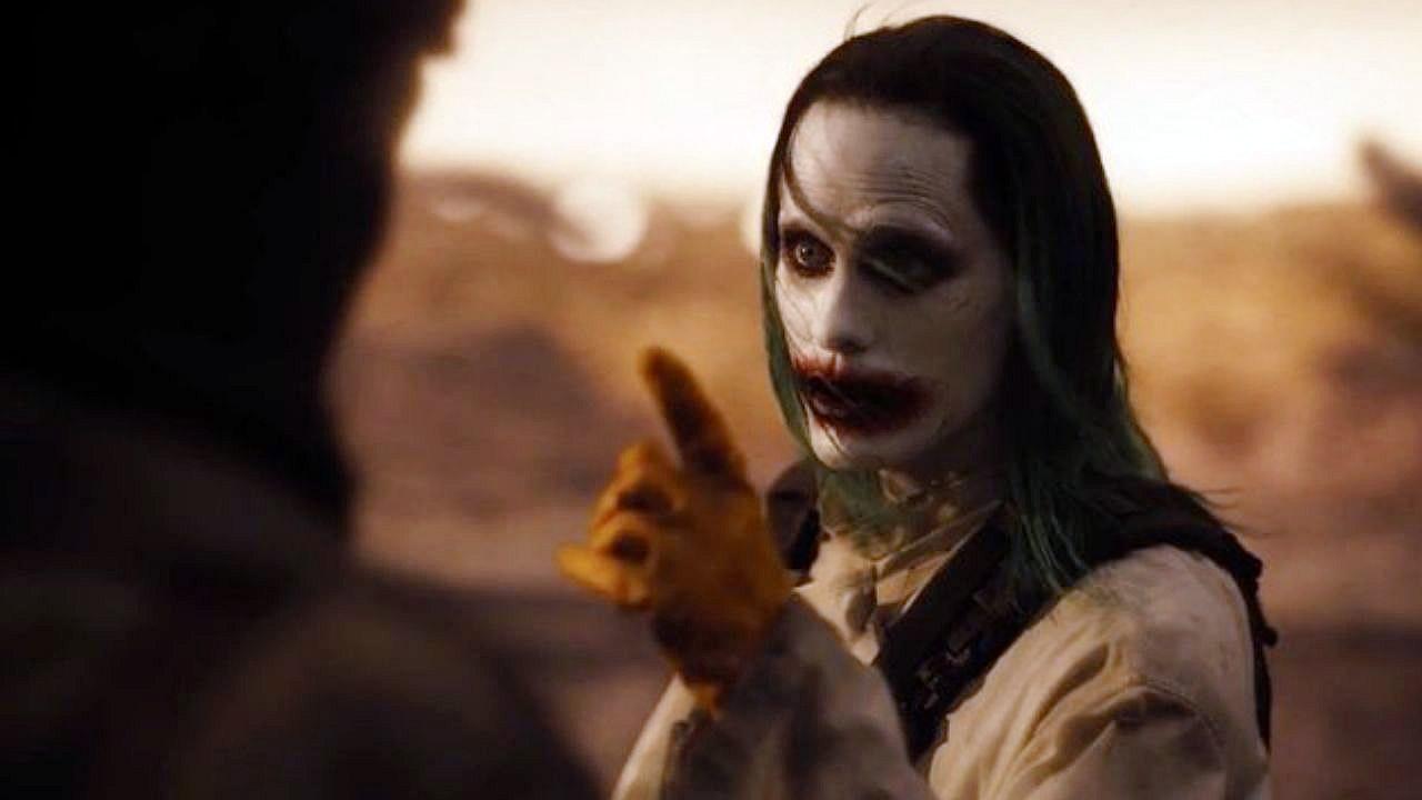 snyder cut coringa de jared leto em liga da justica zack snyder visao de batman - Snyder Cut | Lois Lane estava grávida em Liga da Justiça de Zack Snyder e seu filho se tornaria o novo Batman