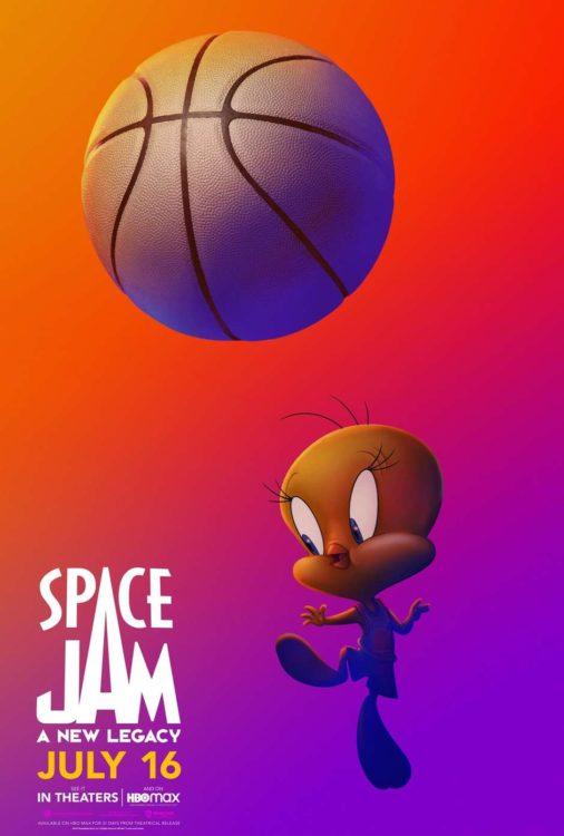 Space Jam: Um Novo Legado | Cartazes individuais dos personagens de Looney Tunes