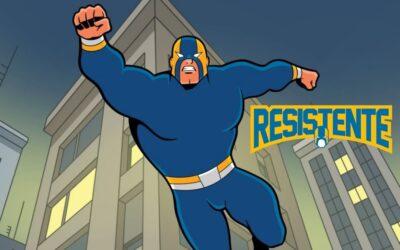 Webcomics Resistente   Histórias mensais do super-herói brasileiro Resistente que diverte e inspira as pessoas