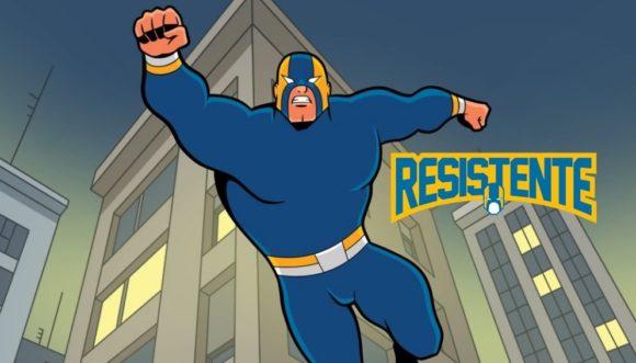 Webcomics Resistente | Histórias mensais do super-herói brasileiro Resistente que diverte e inspira as pessoas