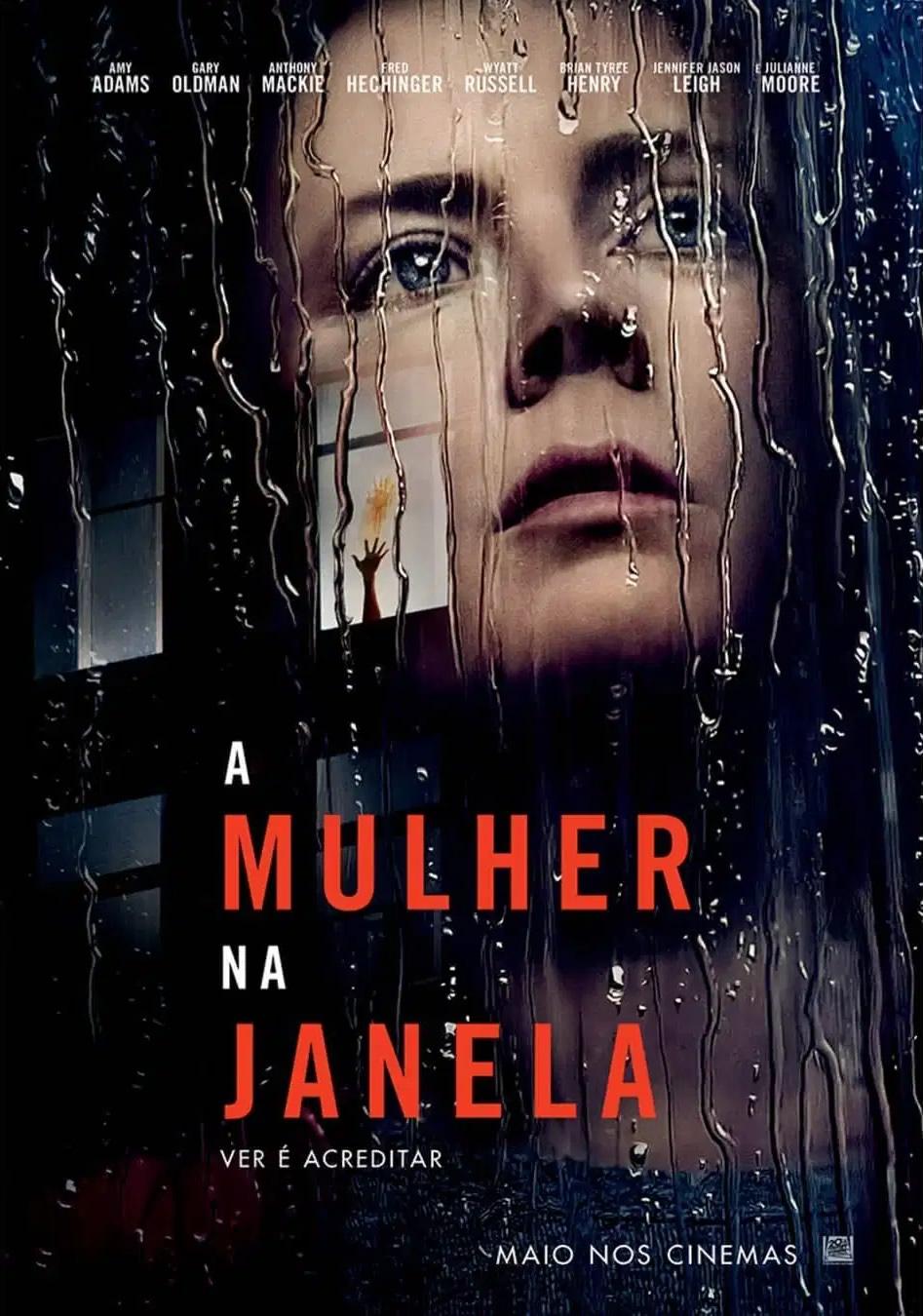 A Mulher na Janela | Netflix divulga trailer do suspense psicológico e misterioso com Amy Adams