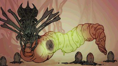 Alien | Animação mostra o ciclo de vida do Xenomorfo