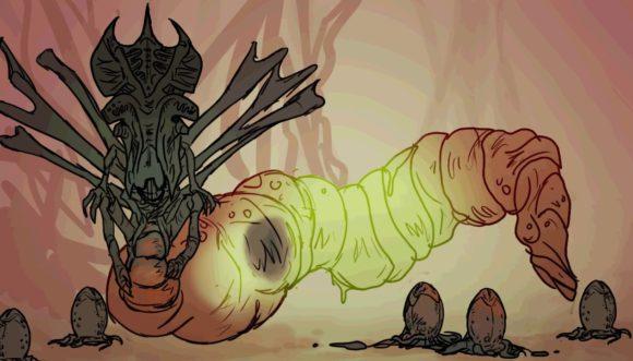 Alien   Animação mostra o ciclo de vida do Xenomorfo