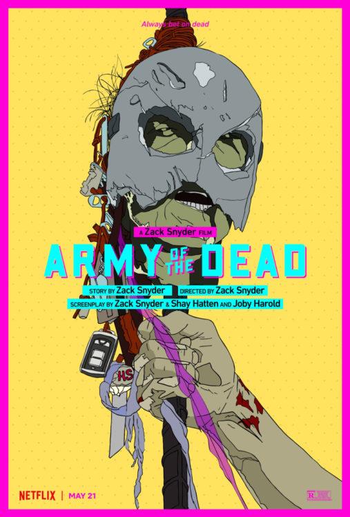 Army of the Dead: Invasão em Las Vegas | Filme de Zumbis de Zack Snyder tem trailer irado e novos cartazes