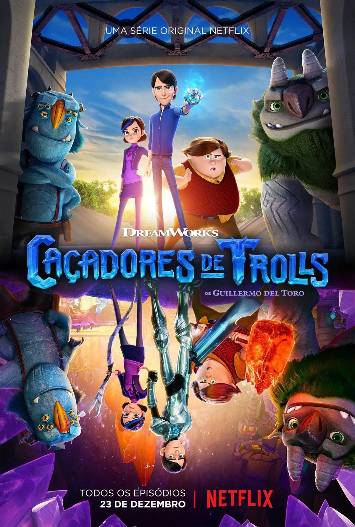 Caçadores de Trolls: A ascensão dos titãs produzido por Guilherme Del Toro ganha trailer e data de estreia