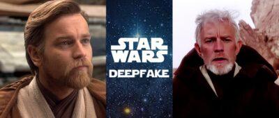 DEEPFAKE: Ewan McGregor como Obi-Wan Kenobi na Trilogia original de Star Wars