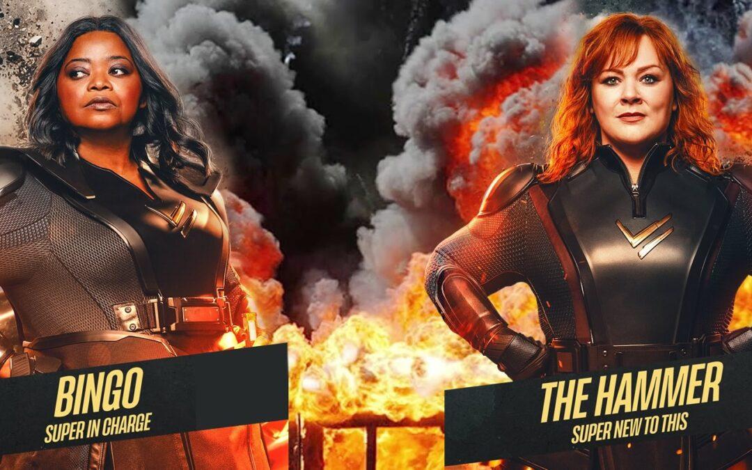 Esquadrão Trovão | Melissa McCarthy e Octavia Spencer em cartazes individuais