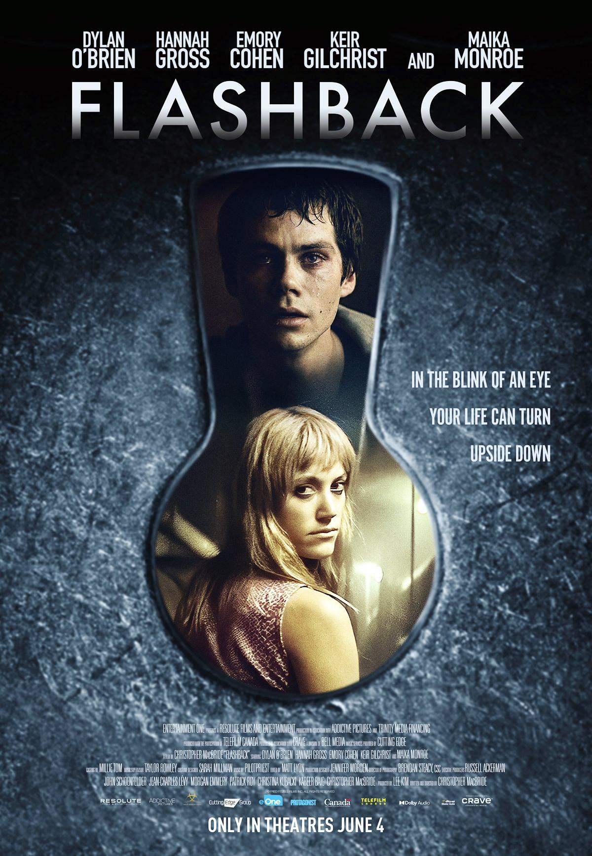 FLASHBACK | Thriller psicológico estrelado por Dylan O'Brien onde passado, presente e futuro se entrelaçam