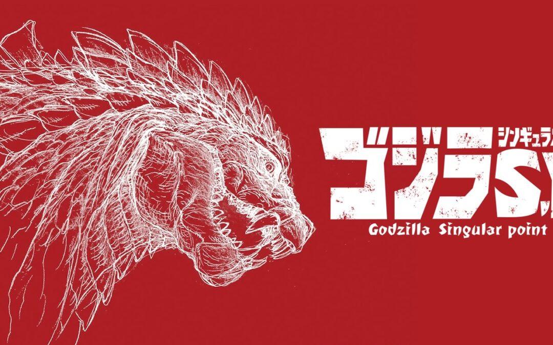 Godzilla Ponto Singular | Trailer da série anime na Netflix em junho