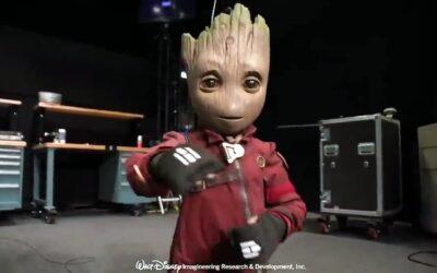 Guardiões da Galáxia   Disney revelou protótipo de um robô do Baby Groot