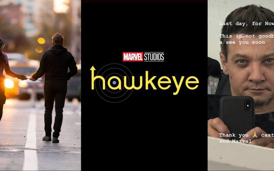Hawkeye | Jeremy Renner revela que a série da Marvel terminou a produção