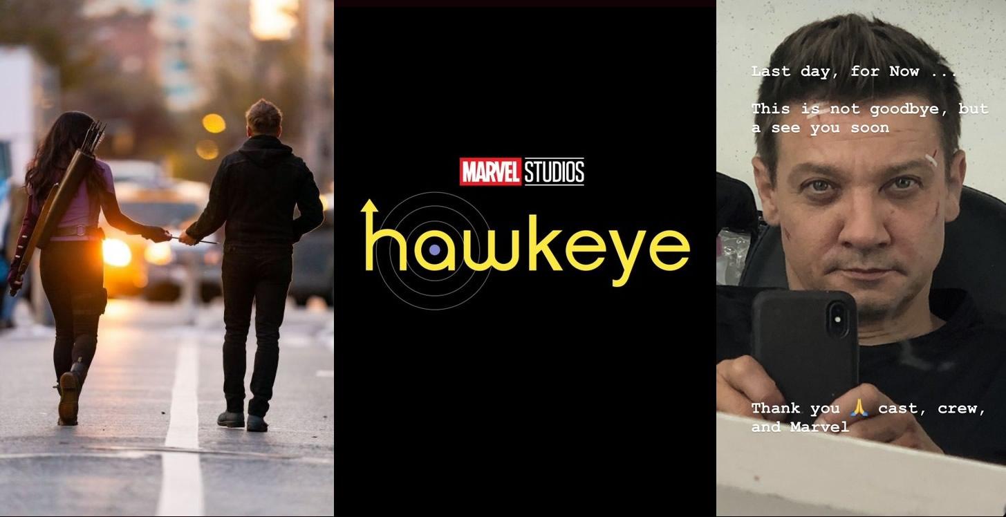 Hawkeye   Jeremy Renner revela que a série da Marvel terminou a produção