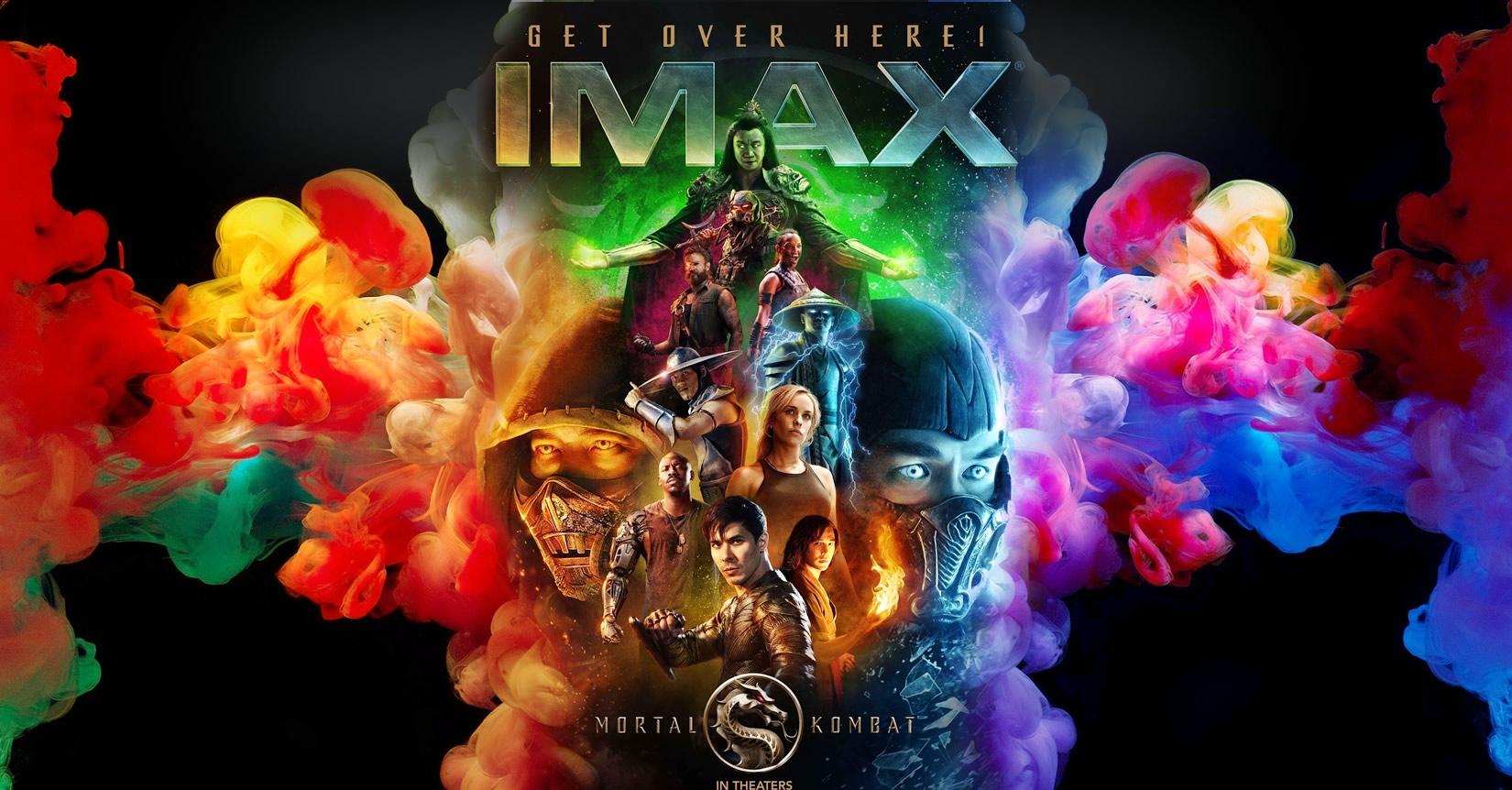 Mortal Kombat | Novo pôster com todos personagens para lançamento em IMAX