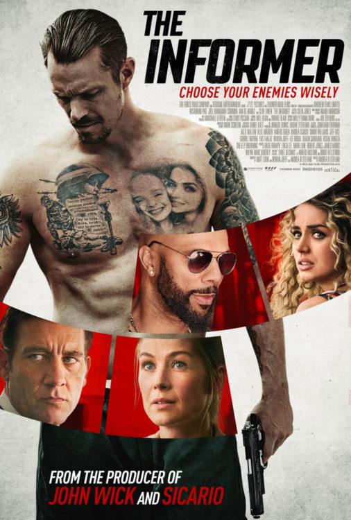 O Informante   Novo filme policial na Netflix com Joel Kinnaman e Rosamund Pike