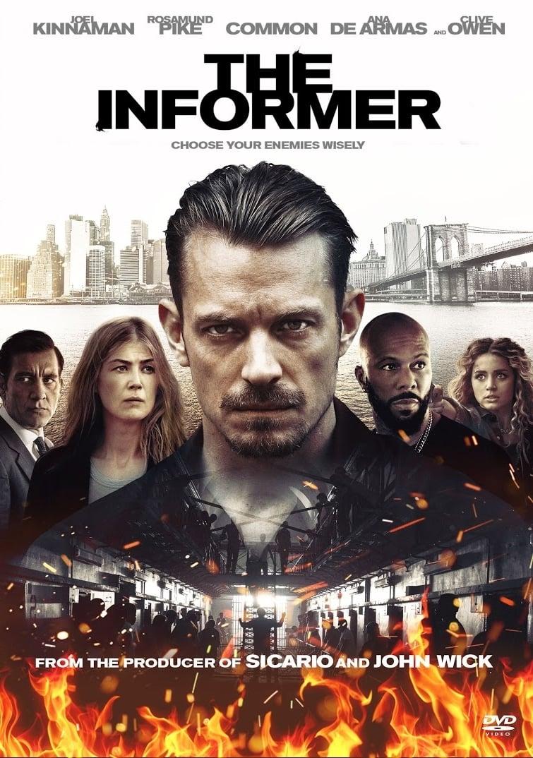 O Informante | Novo filme policial na Netflix com Joel Kinnaman e Rosamund Pike