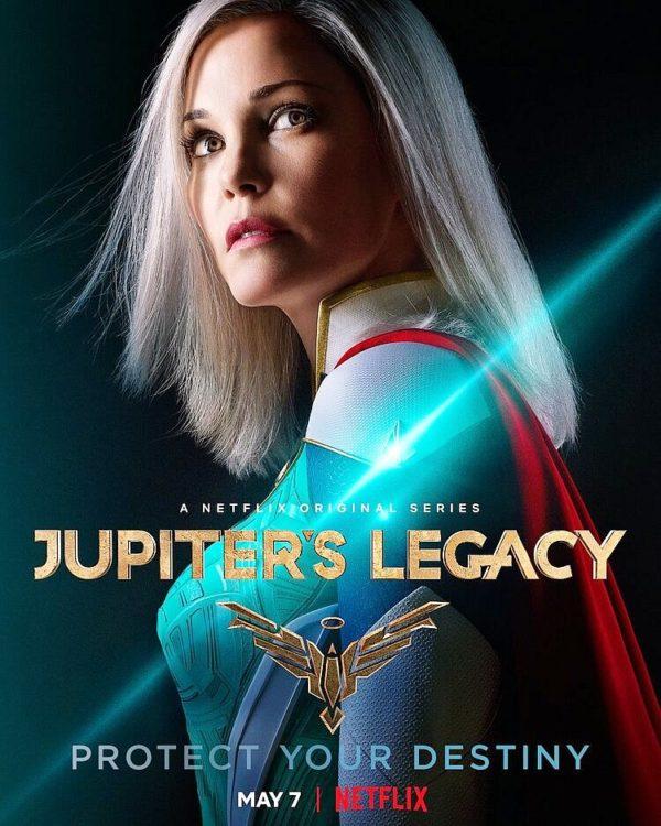 O Legado de Júpiter | Cartazes dos personagens da série de super-heróis inspirada nos quadrinhos de Mark Millar na Netflix