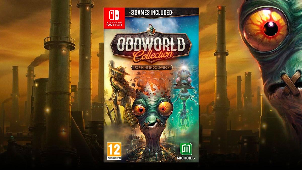 Oddworld | Coleção do game chega em 27 de maio para Nintendo Switch
