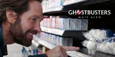 Os Caça-Fantasmas: Mais Além | Teaser mostra Paul Rudd sofrendo ataque dos Minis Stay Pufts