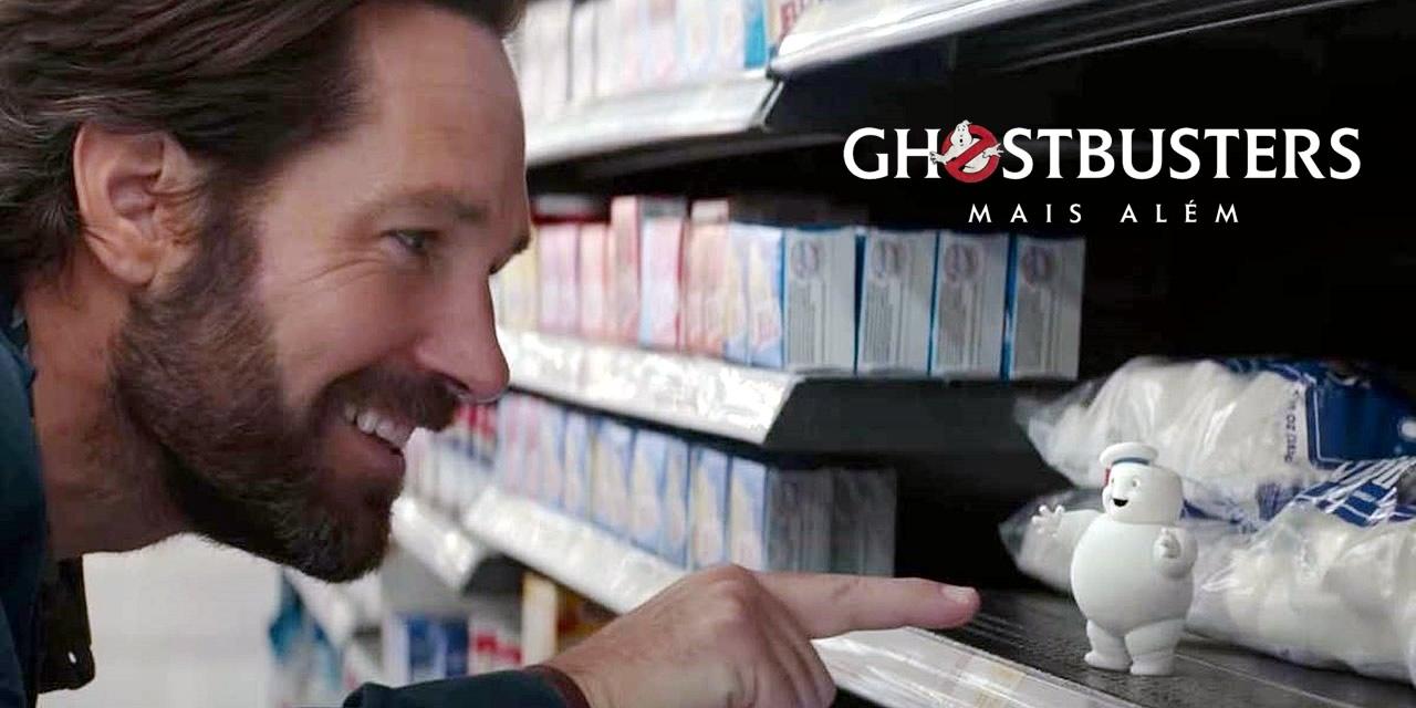 Os Caça-Fantasmas: Mais Além | Teaser mostra Paul Rudd sofrendo ataque dos Mini Stay Pufts
