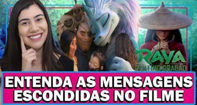 O filme Raya e o Último Dragão entrou definitivamente no catálogo da Disney Plus