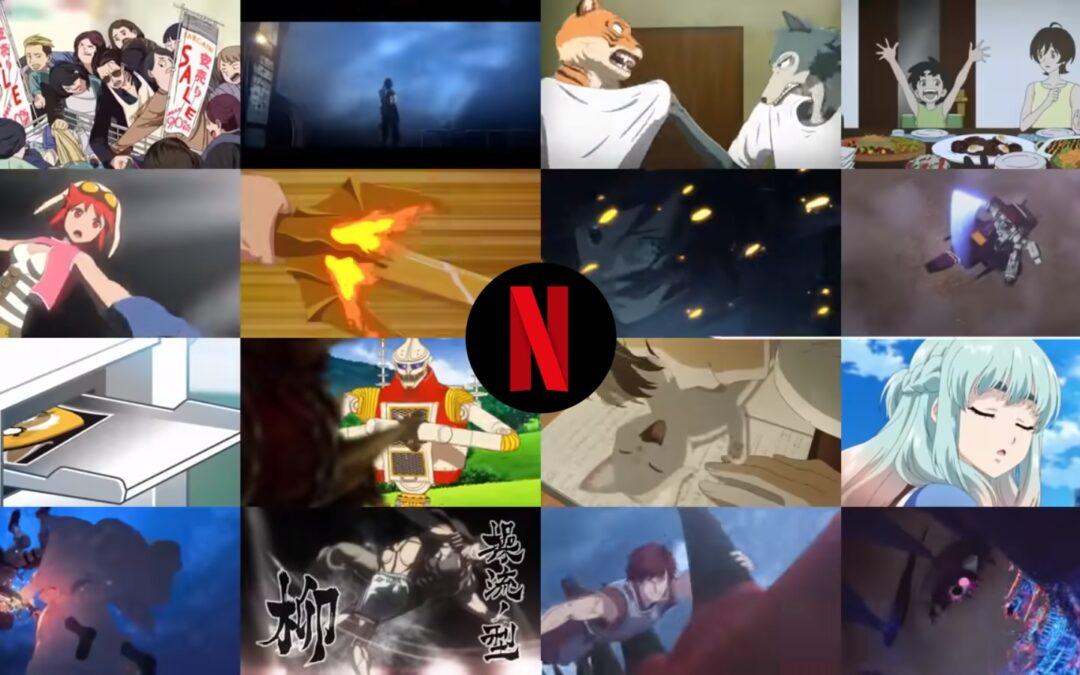 Vem aí Animes | Netflix anuncia seus lançamentos de animes em 2021
