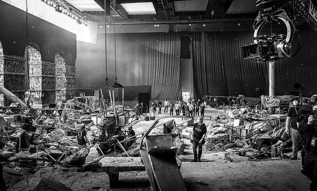 Adão Negro | Dwayne Johnson compartilha fotos de bastidores do set de filmagens