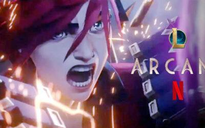ARCANE   Netflix divulga trailer da série animada baseada no game LEAGUE OF LEGENDS