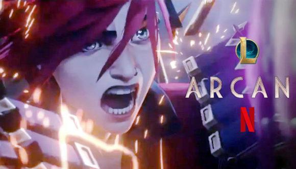 ARCANE | Netflix divulga trailer da série animada baseada no game LEAGUE OF LEGENDS