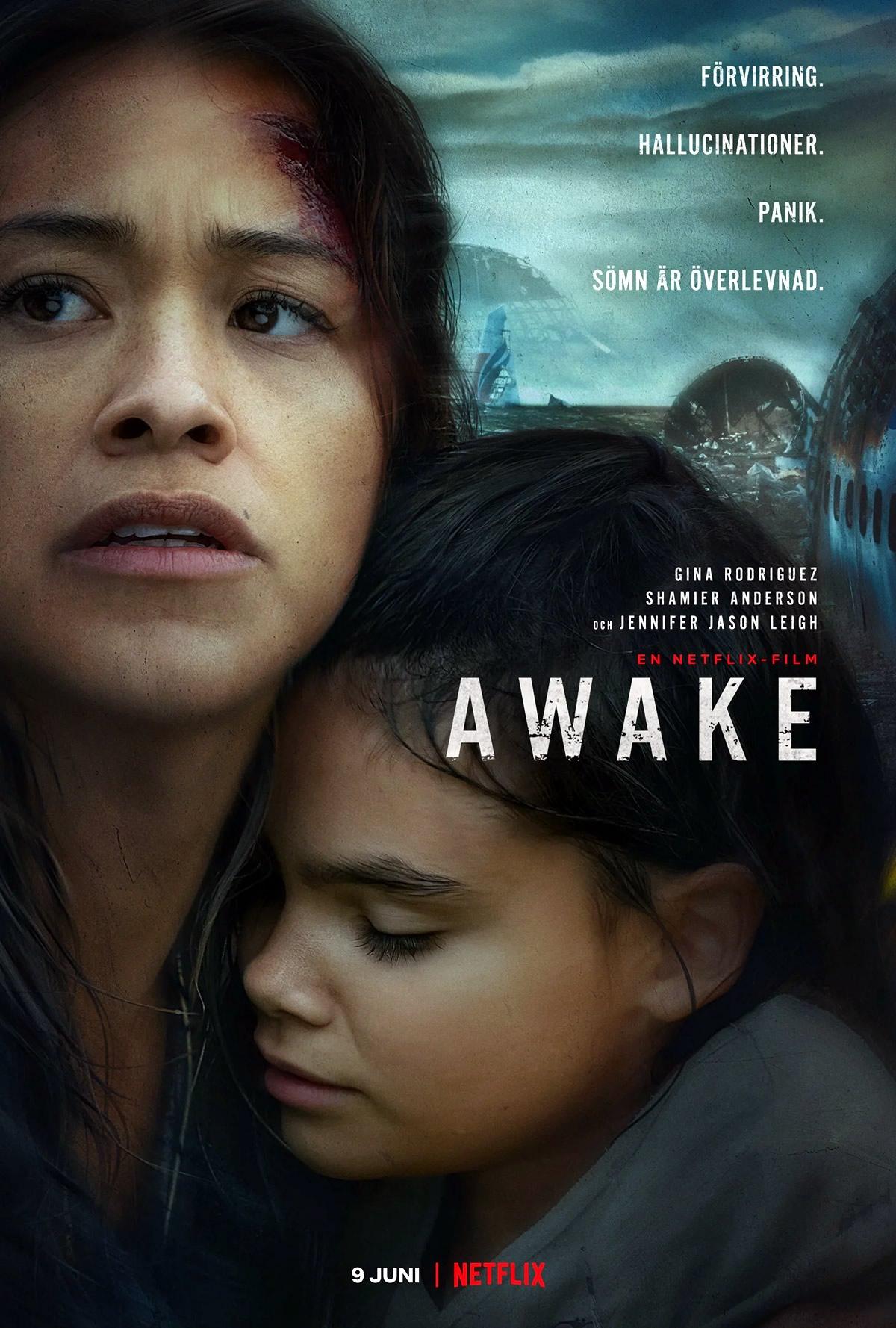 awake ficcao cientifica pos apocaliptico com gina rodriguez na netflix - Awake | Filme de ficção científica pós-apocalíptico com Gina Rodriguez na Netflix