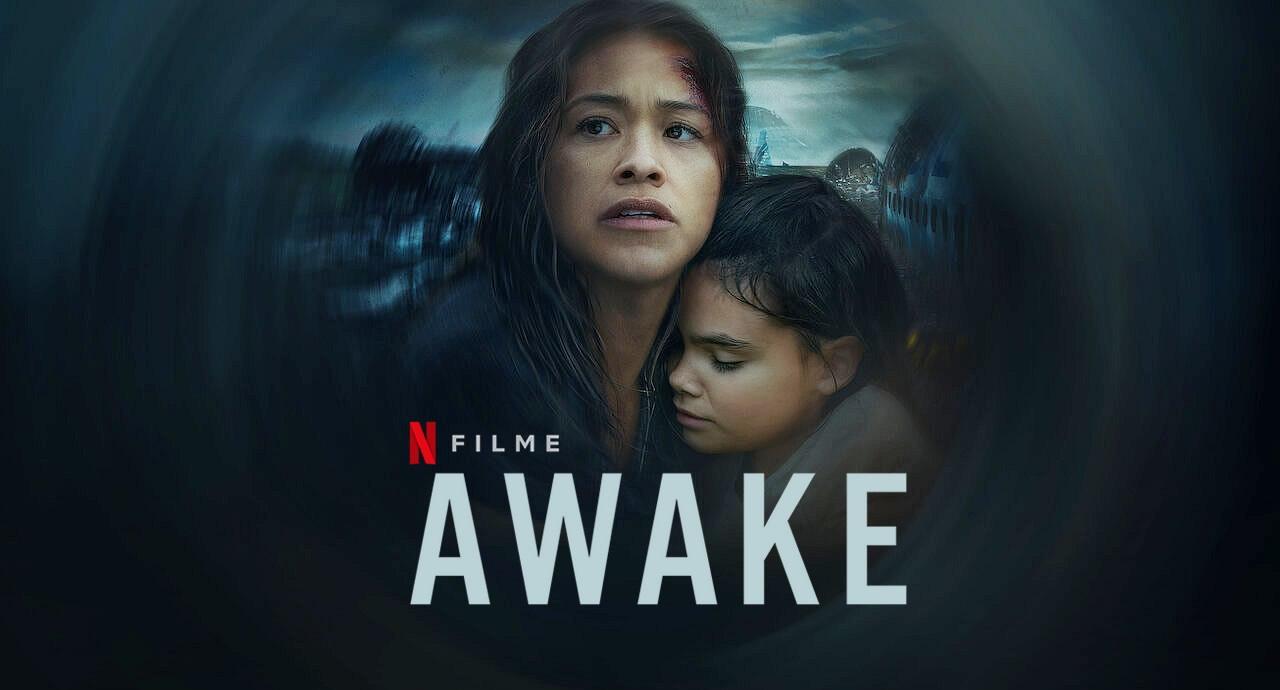 Awake | Filme de ficção científica pós-apocalíptico com por Gina Rodriguez na Netflix