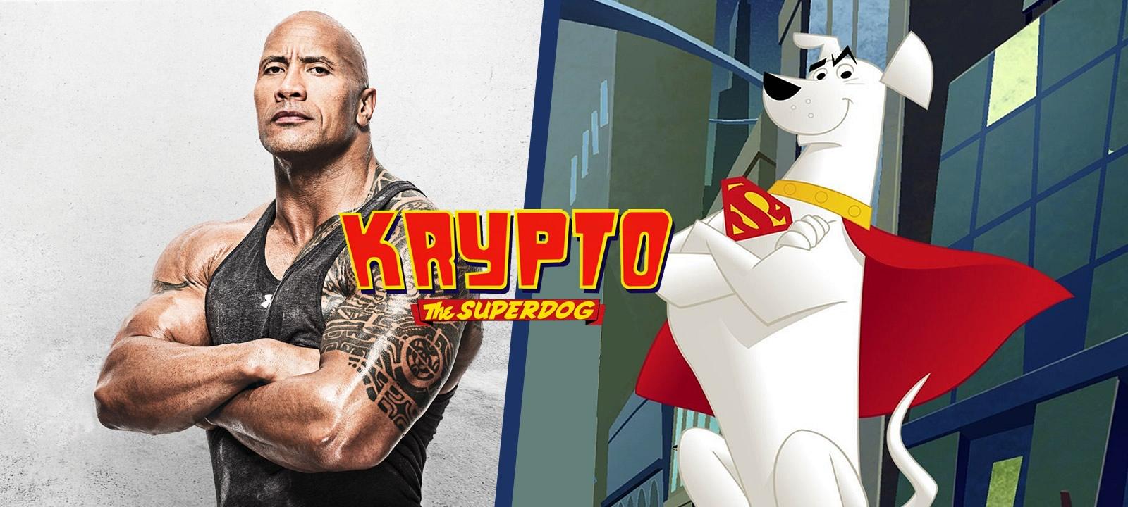 DC League of Super-Pets | Dwayne Johnson emprestará sua voz para Krypto, o Supercão