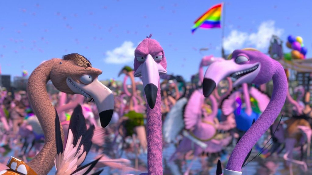 Flamingo Pride | Divertido curta LGBT dirigido por Tomer Eshed