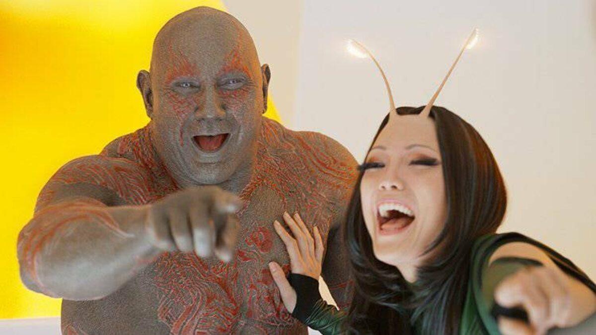 GUARDIÕES DA GALAXIA VOLUME 3 | Dave Bautista revelou que Drax pode chegar ao fim no terceiro filme