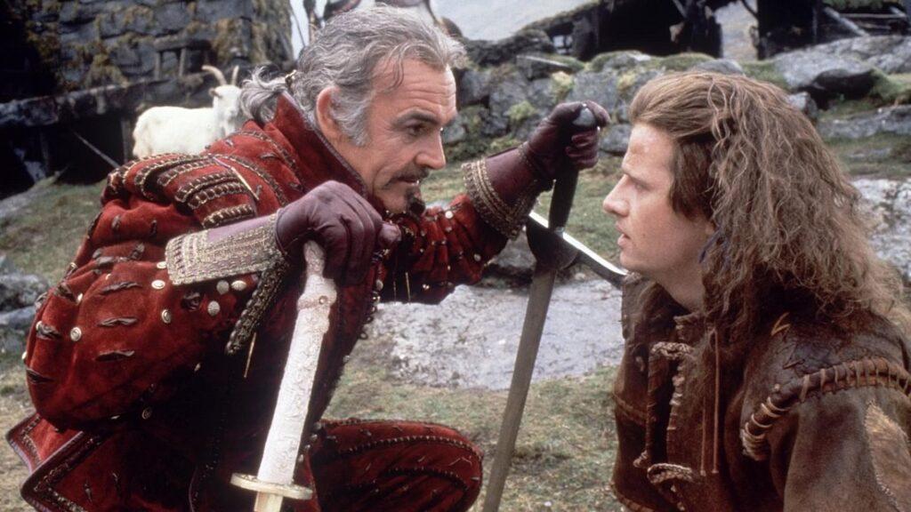 Highlander o Guerreiro Importal - Christopher Lambert e Sean Connery