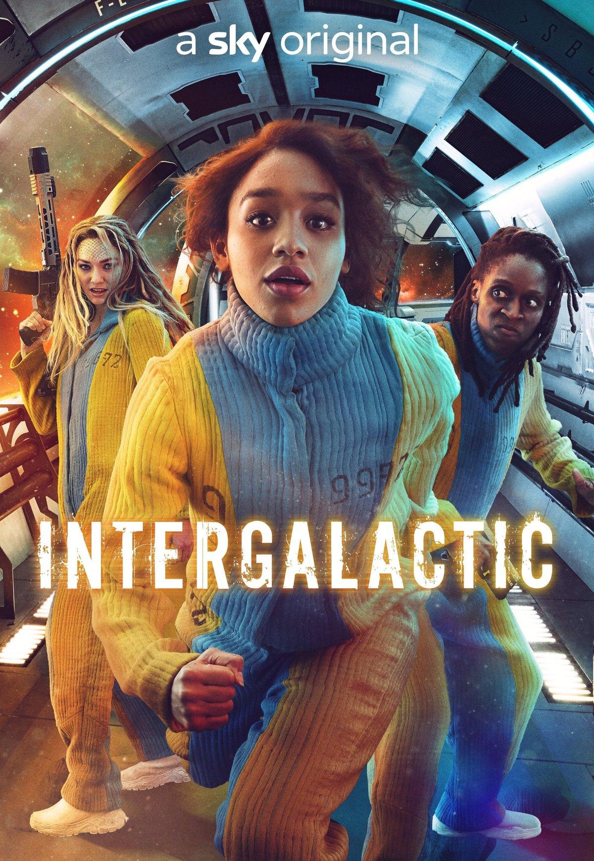 Intergalactic | Série britânica de ficção científica espacial com Savannah Steyn no Sky One