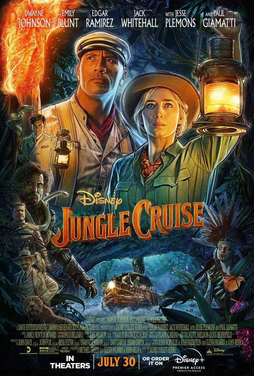 jungle cruise dwayne johnson e emily blunt novo trailer da aventura da disney - Jungle Cruise | Dwayne Johnson e Emily Blunt em novo trailer da aventura na Selva Amazônica
