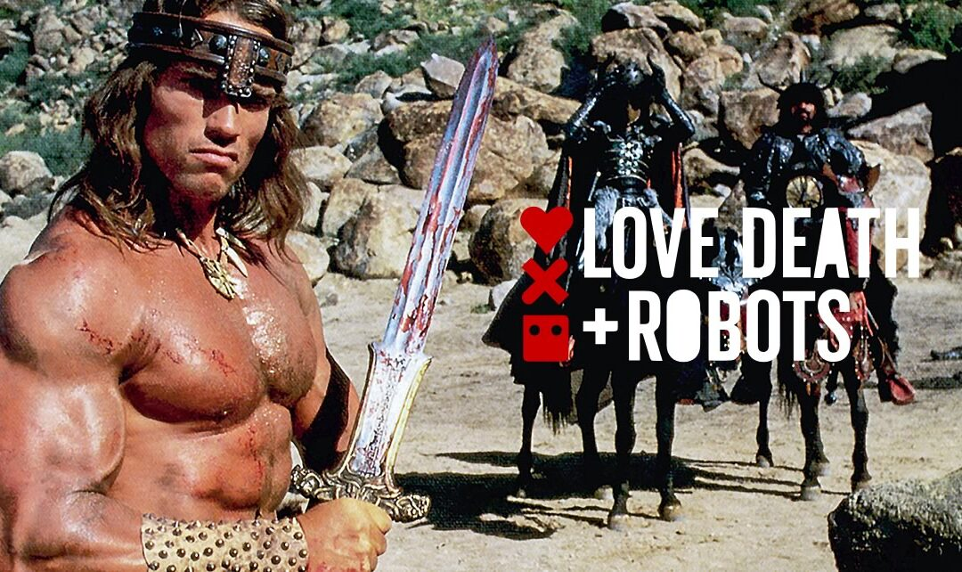 LOVE, DEATH & ROBOTS VOLUME 2 | Tim Miller tentou trazer Arnold Schwarzenegger de volta como Conan