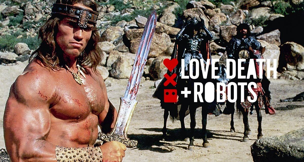 LOVE, DEATH & ROBOTS VOLUME 2 tentou trazer Arnold de volta como Conan
