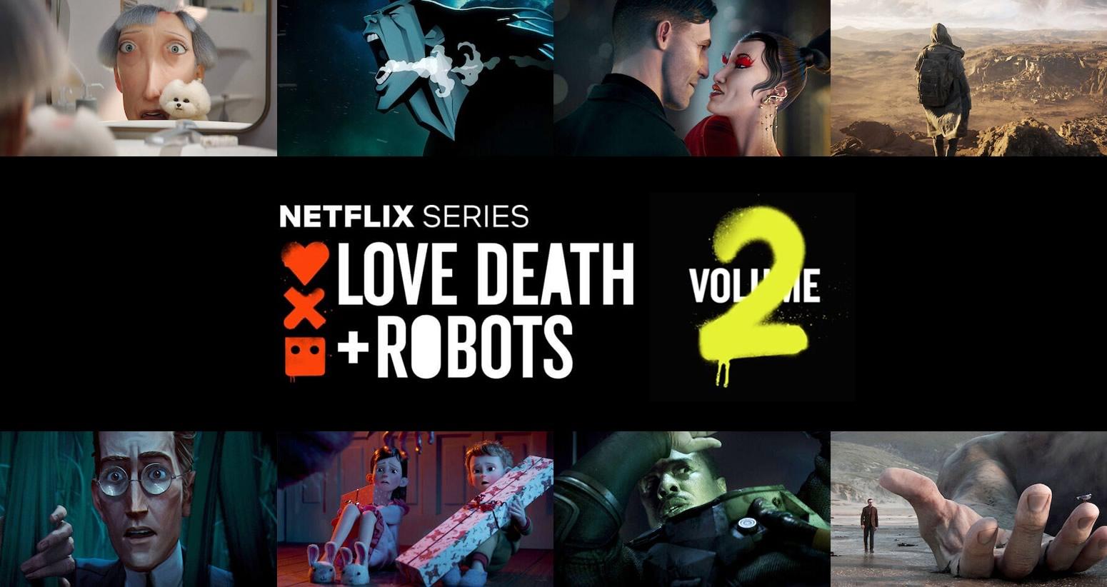 Love, Death & Robots   Segunda Temporada na Netflix