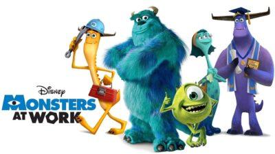 Monsters at Work   Disney + divulga teaser da série spin-off de Monstros S.A.