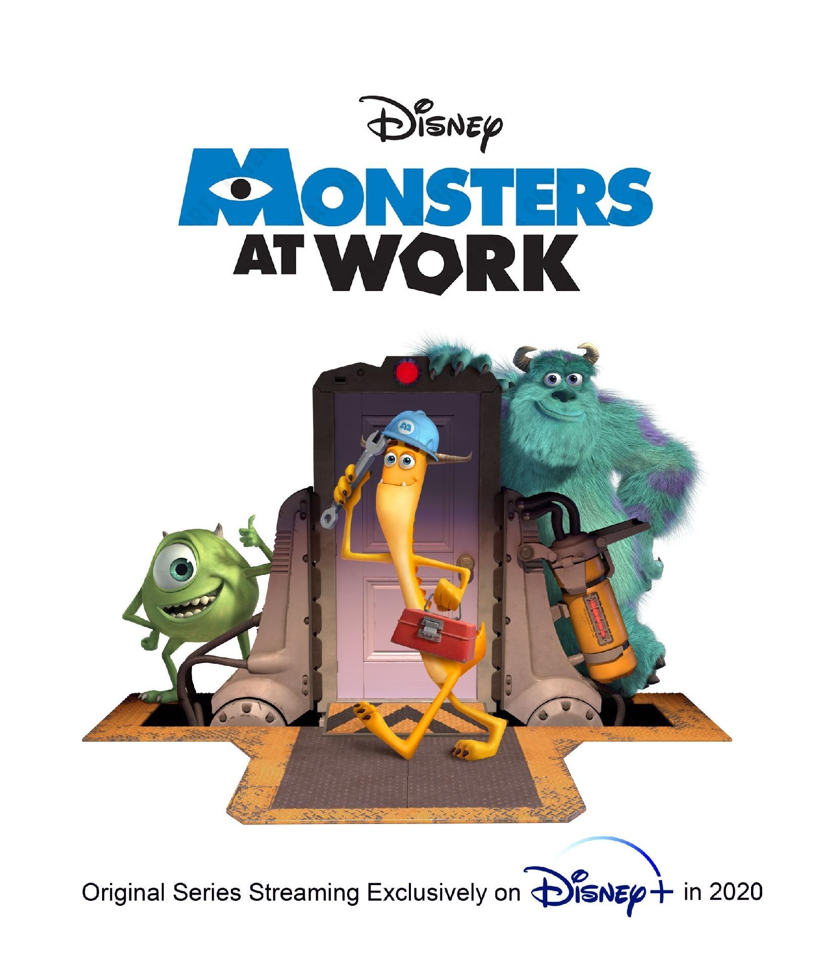 Monsters at Work | Disney + divulga teaser da série spin-off de Monstros S.A.