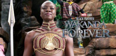PANTERA NEGRA: WAKANDA FOREVER | Danai Gurira reprisando seu papel como Okoye e em série spinoff na Disney Plus