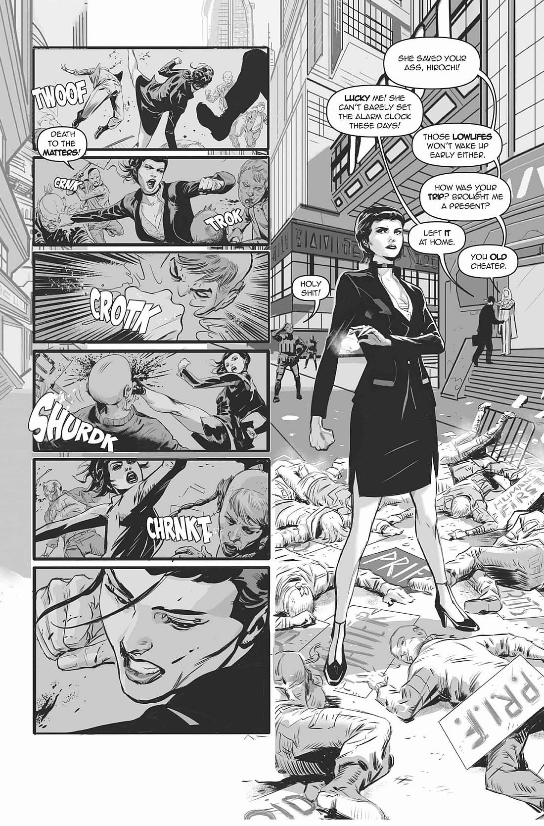 SMART GIRL | Quadrinho de ficção científica da Titan Comics pelo artista Fernando Dagnino