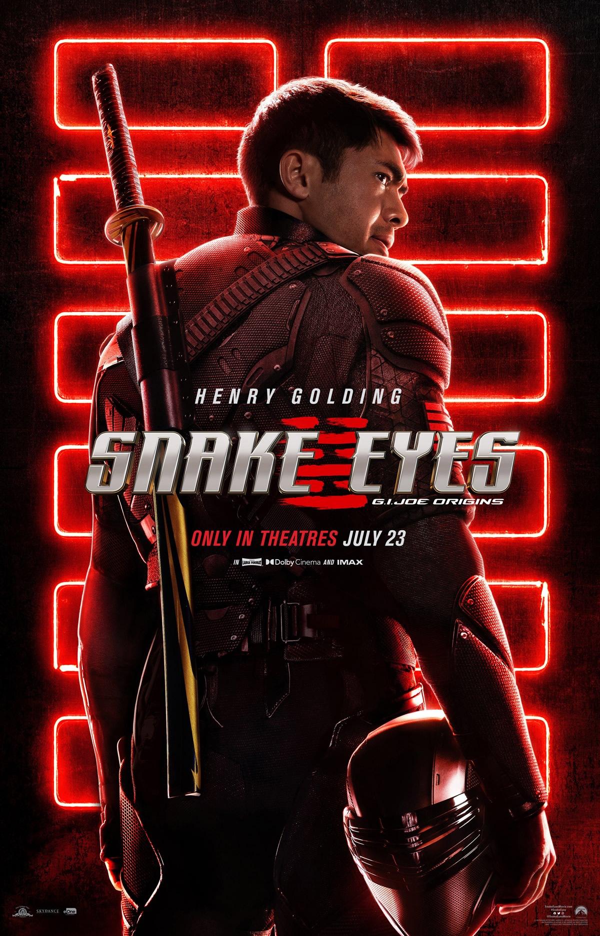 Snake Eyes: GI Joe Origins   Trailer do spin-off de ação da franquia GI Joe