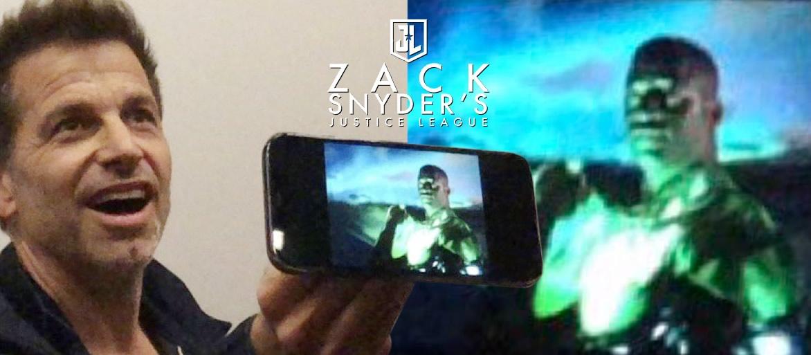 Snyder Cut - Zack Snyder revela imagem de Wayne T. Carr como o Lanterna Verde de John Stewart de Liga da Justiça