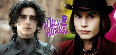 Timothée Chalamet irá interpretar Willy Wonka na prequela da Fábrica de Chocolate