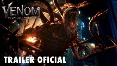 Venom: Tempo de Carnificina | Sony Pictures divulga trailer da sequência com Tom Hardy